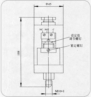 YWK-150压力控制器