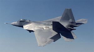 美国F-22 军用飞机