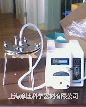 國產不銹鋼平板單層微孔濾膜過濾器配合蠕動泵實物圖 微孔濾膜過濾器配合蠕動泵