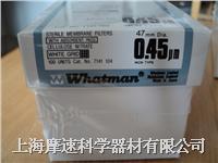 7141-104英國WHATMAN 47MM 0.45UM無菌白底黑格濾膜帶吸收墊實物照 7141-104
