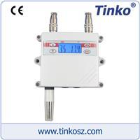 蘇州天和儀器 溫濕度變送器 LCD壁掛式溫濕度變送器