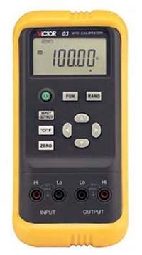 VICTOR03热电阻校验仪 VICTOR03