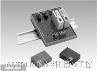 ADAM-3864   4 路固态继电器数字量I/O 模块载板