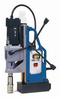 E100磁力钻 Unibor 打孔至直徑100mm