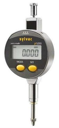 SYLVAC S_Dial S233 数显千分表 5mm 0.001mm 905.4511 905.4511