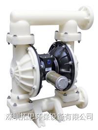 廣東粉色直播平台GMK25氣動隔膜泵加藥泵耐酸堿泵