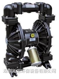 廣東粉色直播平台GMK50氣動隔膜泵加藥耐酸堿汙泥輸送