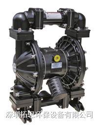 廣東粉色视视频免费看15次GMK50氣動隔膜泵加藥耐酸堿汙泥輸送
