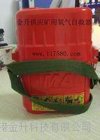 压缩氧自救器zyx45/隔绝式自救器/带煤安证符合矿用标准45分钟供氧 zyx45 恒泰