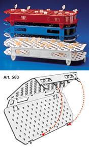 折叠式离心管架 PP聚丙烯材质