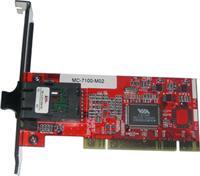 10/100M自适应PCI以太网光纤网卡