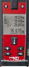 PD42手持激光测距仪  PD42手持激光测距仪