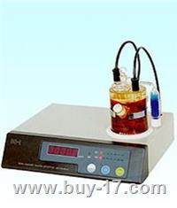 微量水分测定仪/卡尔·费休水分测定仪、液体溶液水分测量仪 WS-3