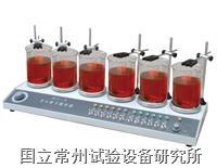 多頭磁力加熱攪拌器 HJ-6