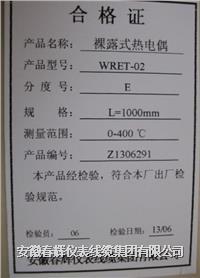 裸露式熱電偶 WRNT-02  WRET-02