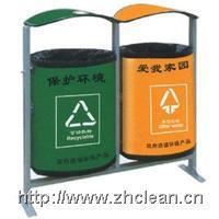 复合版双桶分类垃圾桶 GPX-228