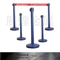 蓝色伸缩排队隔离柱 LG-H
