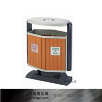 环保塑木防锈垃圾桶 GPX-234  S