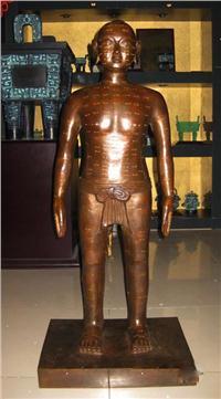 針灸銅人|針灸銅人模型|仿古針灸銅人|古代針灸銅人 ZTR-4