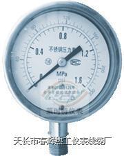 不銹鋼壓力表 不銹鋼耐振壓力表 YBF-0 YBF-100 BFN-100 BFN-150