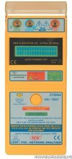 2726NA回路阻抗及預期短路電流測試儀2726NA|2726NA 2726NA
