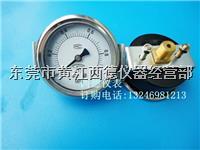 **60MM背式带支架0-1MPA气压表,压力表,面板安板气压表