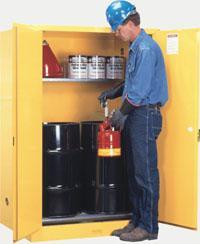 雙油桶安全儲存櫃 899100,899160,29760