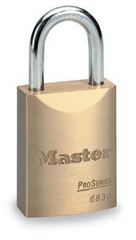6彈子進口銅掛鎖 Master lock,6850KAMCN,6830KAMCN,6彈子,同花