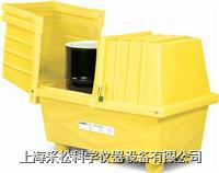 兩桶式敞蓋式防漏箱 Enpac,2038-YE,116cmH