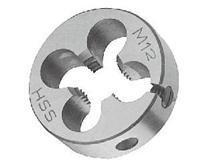 高速钢公制圆板牙 KT6-109-71