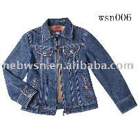 lady's denim jacket