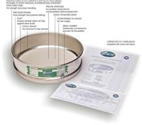 ASTM 分析筛 ASTM 分析筛的合格证书
