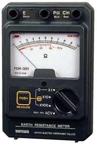 指针式接地电阻测试仪PDR301 PDR-301