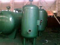 卧式导流通多行程容积式换热器