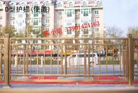 北京長安街不銹鋼金色防撞護欄原產地