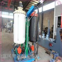 订做加工聚氨酯直埋保温管发泡机,高压聚氨酯发泡设备 gy-300