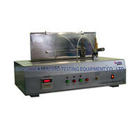 Surface burning tester