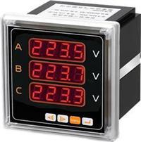 9方形智能三相电压表