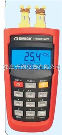 美国OMEGA原装进口HH806AW无线传输型双通道数据记录器温度计 HH806AW