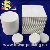 RTO heat exchange media:Honeycomb ceramic