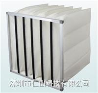 鋁框中效袋式過濾器