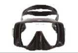 無框潛水面鏡 X-Deep M10 Mask