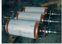 高壓電機轉子修理 電機轉子換軸 電機轉子換軸承找廣州電機廠