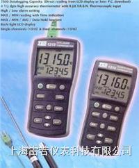 溫度記錄表(溫度計)TES-1316K.J.E.T.R.S.N TES-1316K