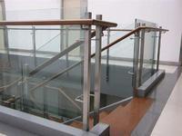 商場用不鏽鋼護欄 樓梯將軍柱
