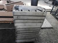 江蘇生產綠化方形檢修不鏽鋼井蓋 800*800*110*6