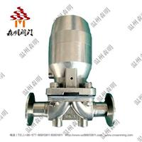 不锈钢气动隔膜閥-卫生级 SMQDGMF