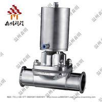 不鏽鋼氣動隔膜閥-衛生級