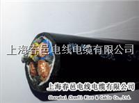 上海定做行車專用電纜線 彈性電纜線 吊籃手柄專用線,內置鋼絲繩