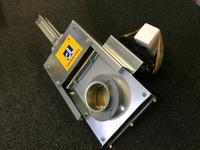 意大利Control logic康洛吉SER852中型吊拉窗式管道切斷閥門 原裝進口